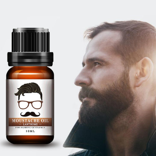Pure Organic Beard Oil Growing for Facial Hair