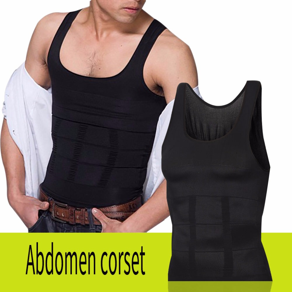 Men's Sculpting Vest Slim N Lift Compression Muscle Shapewear