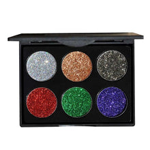 6 Color Waterproof Shimmer Eye Shadow