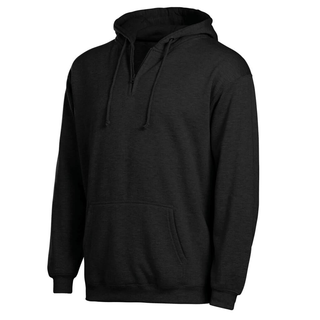 Pullover Hooded 1/4 Zip Sweatshirt