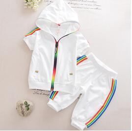 Fashion Kids Boy Girl Clothes Sportswear Very Colorful