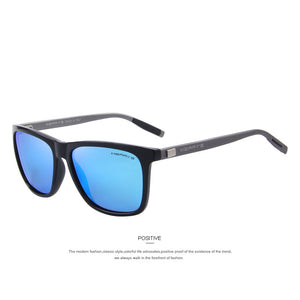 MERRY'S Unisex Retro Aluminum Sunglasses Polarized For Men/Women