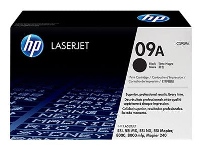 HP 09A LaserJet Print Cartridge (C3909A)