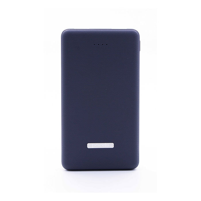 Porodo Dual USB Power Bank 10000mAh with Rubberised Surface (PD-PB111-BK)