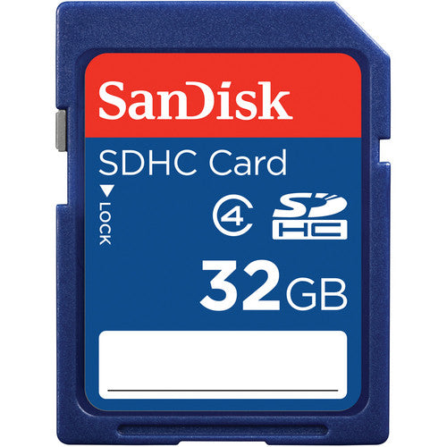 SanDisk 32GB SDHC Flash Memory Card for Camera
