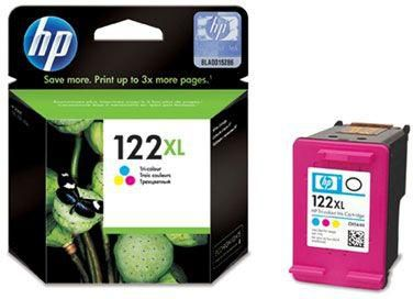 HP 122XL Tri-color Ink Cartridge (CH564HE)