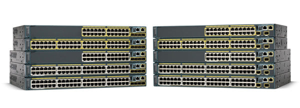 Cisco Catalyst WS C2960S-48FPD-L 48 Ports Switch
