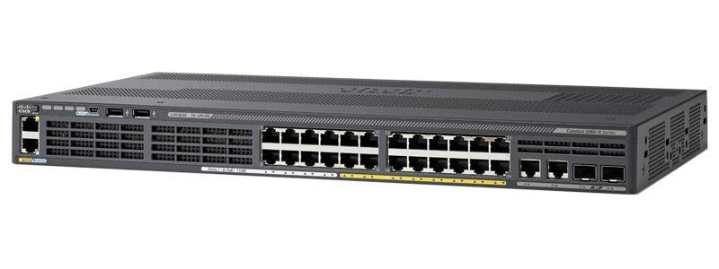 Cisco Catalyst 2960X-24PS-L POE with 2 SFP uplink interface Switch