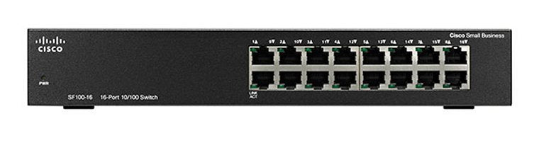 Cisco SF100-16 16-Port 10/100 Switch