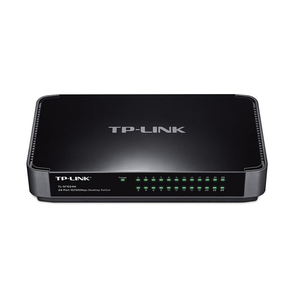 TP-Link (TL-SF1024M) 24-Port 10/100Mbps Desktop Switch