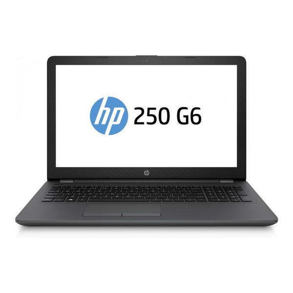 HP 250 G6 Notebook PC Laptop (4BD43EA)  - Intel Core i3, 4GB RAM, 1TB Hard Disk, 15.6 Inch Display, Backlit, Free DOS