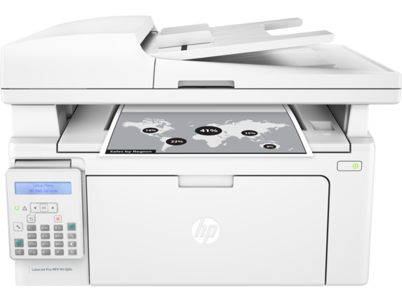 HP LaserJet Pro M130fn - G3Q59A All-in-One Monochrome Laser Printer
