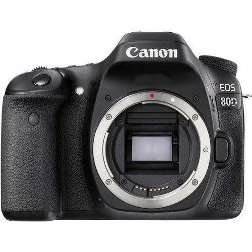 Canon EOS 80D DSLR Camera (Body Only) - 1263C010AA