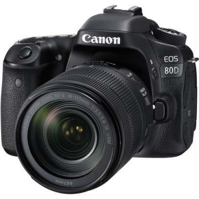 Canon EOS 80D DSLR Camera with 18-135mm Lens (1263C011AB)
