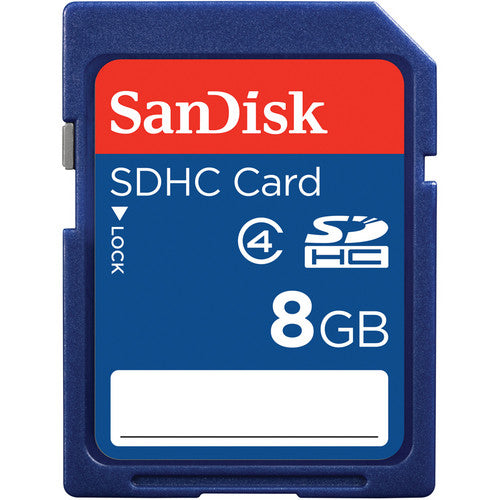 SanDisk 8GB SDHC Flash Memory Card for Camera