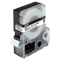 Epson Label Cartridge Pastel  LC-5WBN9 Black on White tape 18MM (9M) (C53S655006 )