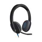 Logitech H540 USB Headset with Noise-Cancelling Mic (981-000480)