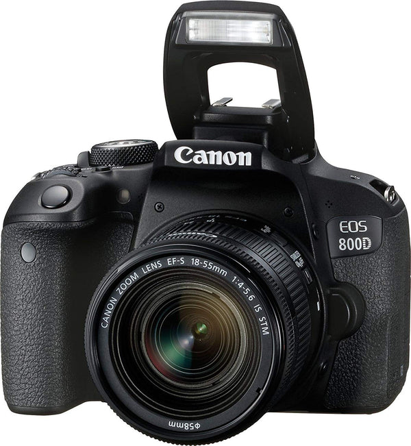 Canon EOS 800D Digital SLR with 18-55 is STM Lens (1895C002BA)