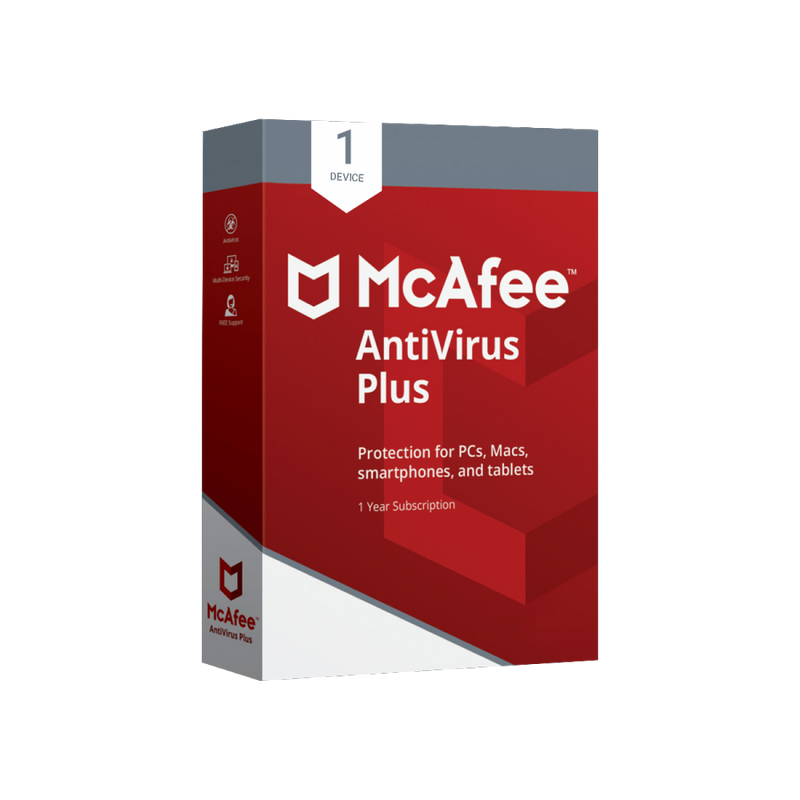 Mcafee Antivirus Plus 1 USER 1 YEAR (MULTI-DEVICE) 2020