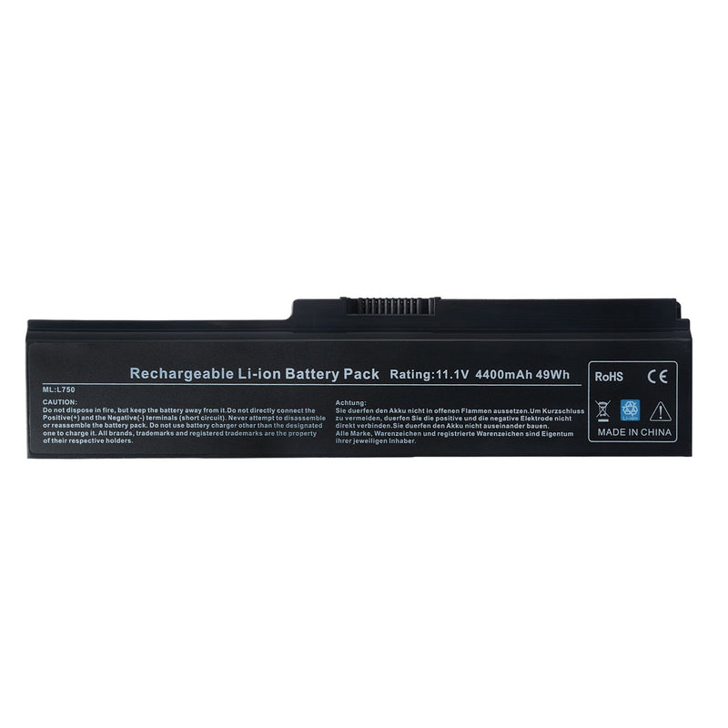 Toshiba Satellite Pro L650 Laptop Replacement Battery