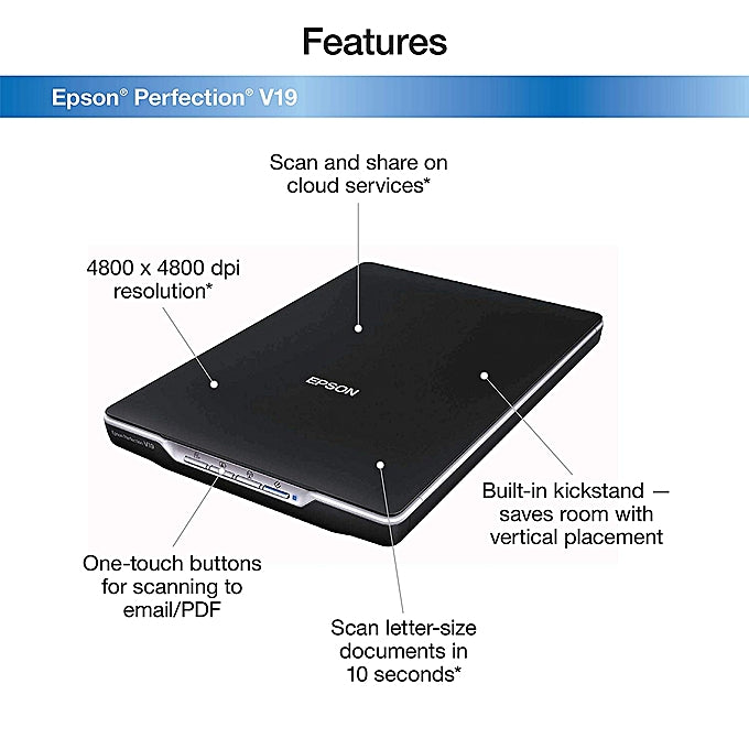 Epson Perfection scanner V19