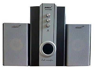 Ampex AX575DC 3.1 Channel Super Wooofer, 7000W PMPO with Bluetooth/FM/USB/SD/RemoteFunctions