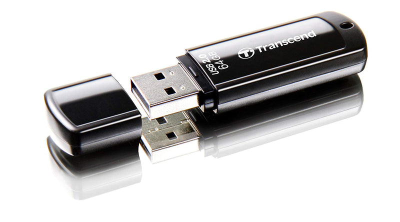 Transcend jetflash 350 usb 2.0 flash drive 64GB