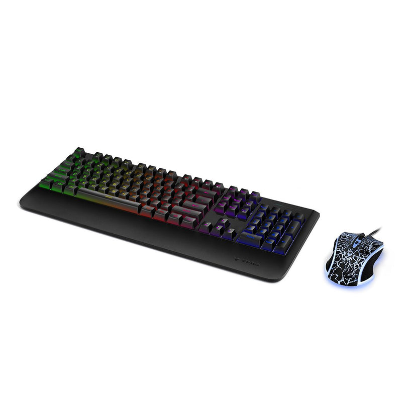 Vpro V110 Backlit Gaming Keyboard and Optical Gaming Mouse