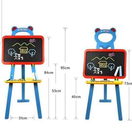 3in1 Kids Magnetic Learning Easel Board
