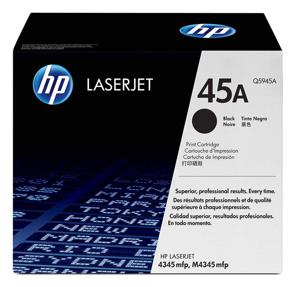 HP 45A LaserJet Black Print Cartridge (Q5945A)