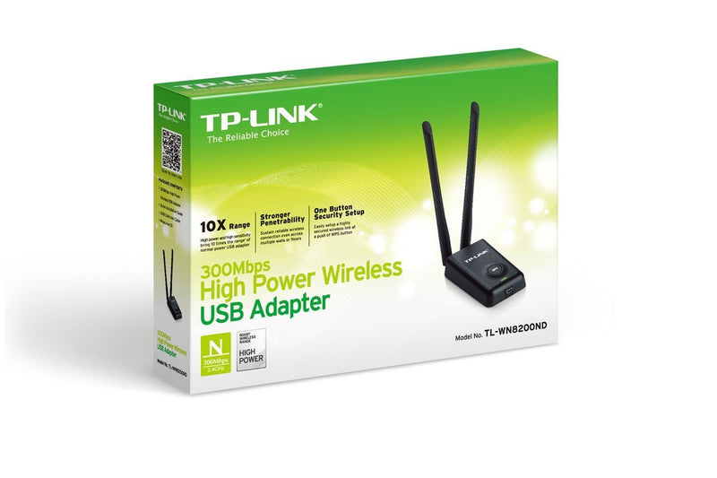 TP-Link TL-WN8200ND High Power 300Mbps Wireless USB Adapter