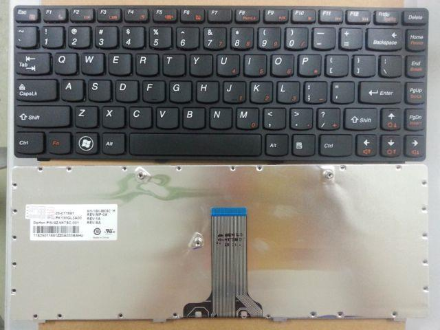 Lenovo Ideapad Z565 Laptop Replacement Keyboard