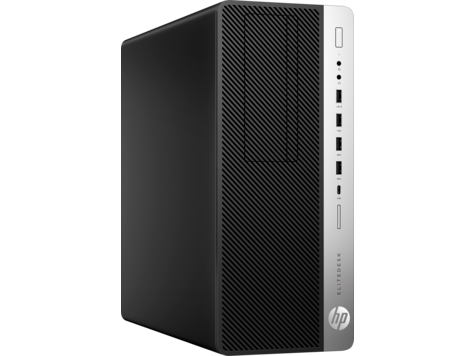 HP EliteDesk 800 G4 TWR Desktop - 3.2 GHz Intel Core i7-8700 Six-Core - 1TB - 8GB - Windows 10 Pro - 6MC64EA