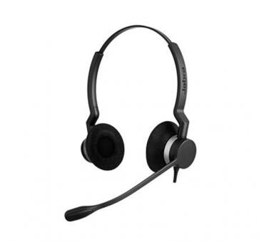Jabra BIZ 2300 Duo, NC, Balanced Wired Headset - 2309-825-109