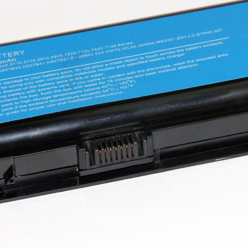 Acer Aspire 7230 Laptop Replacement Battery