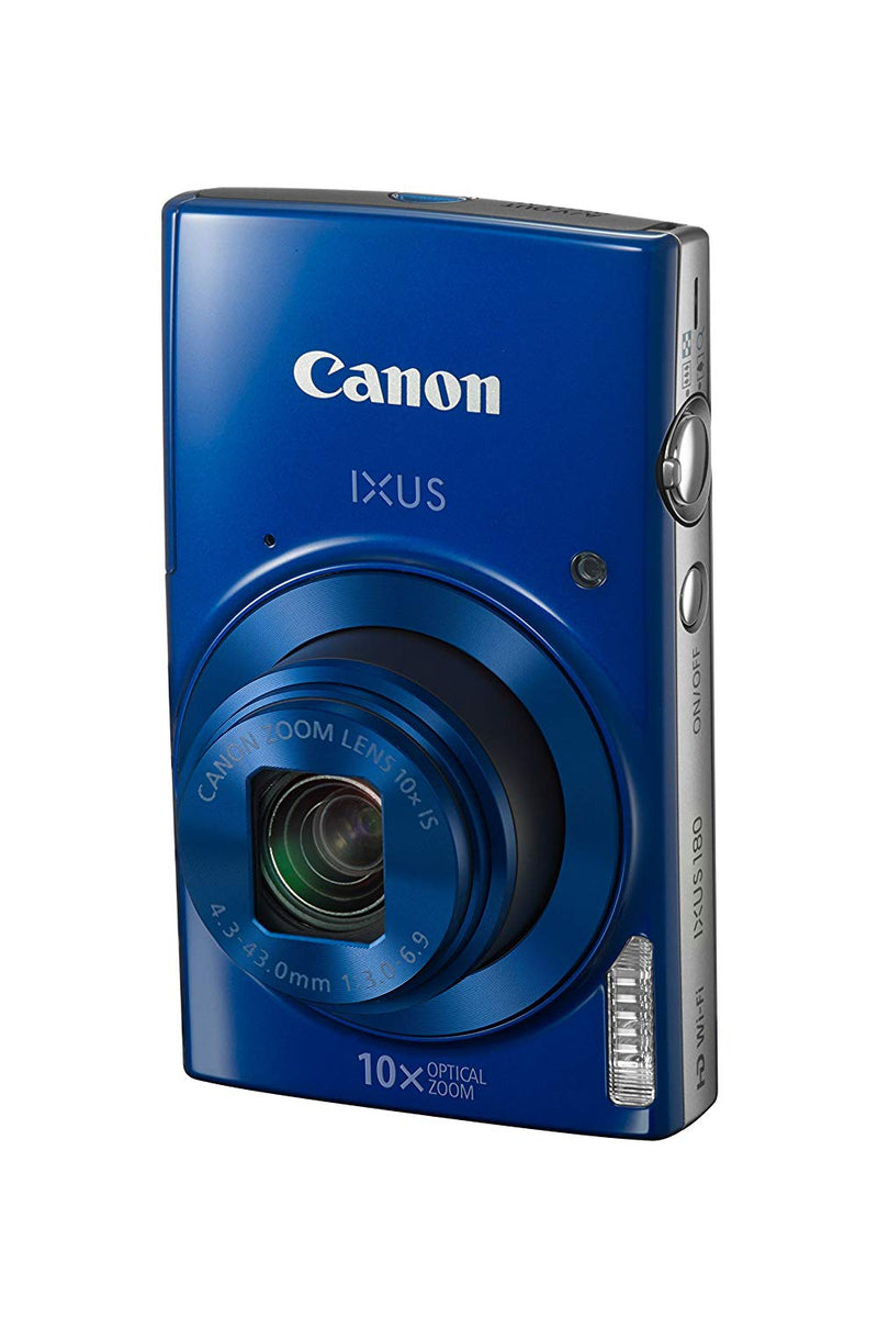 Canon IXUS 180 Compact Camera with 2.7 inch LCD Screen (1091C001AA)