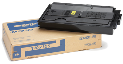 Genuine Black Kyocera TK-7105 Toner Cartridge(TK7105)