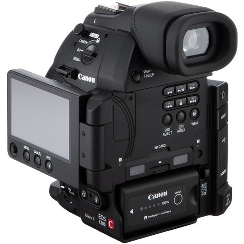 Canon EOS C100 Mark II Cinema EOS Camera with Dual Pixel CMOS AF(Body Only)