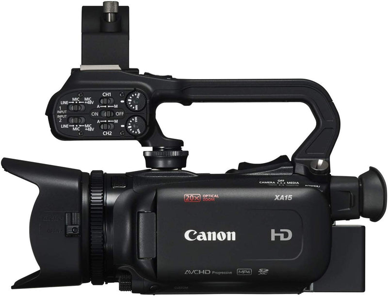 Canon XA15 Camera-Compact Full HD Camcorder with SDI, HDMI, and Composite Output