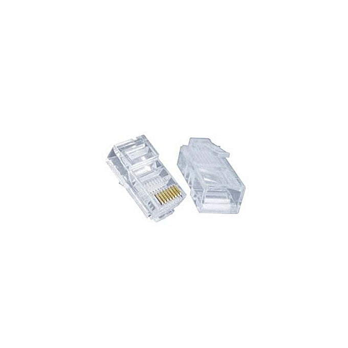 RJ45 Connectors Cat6, 1000 Pieces