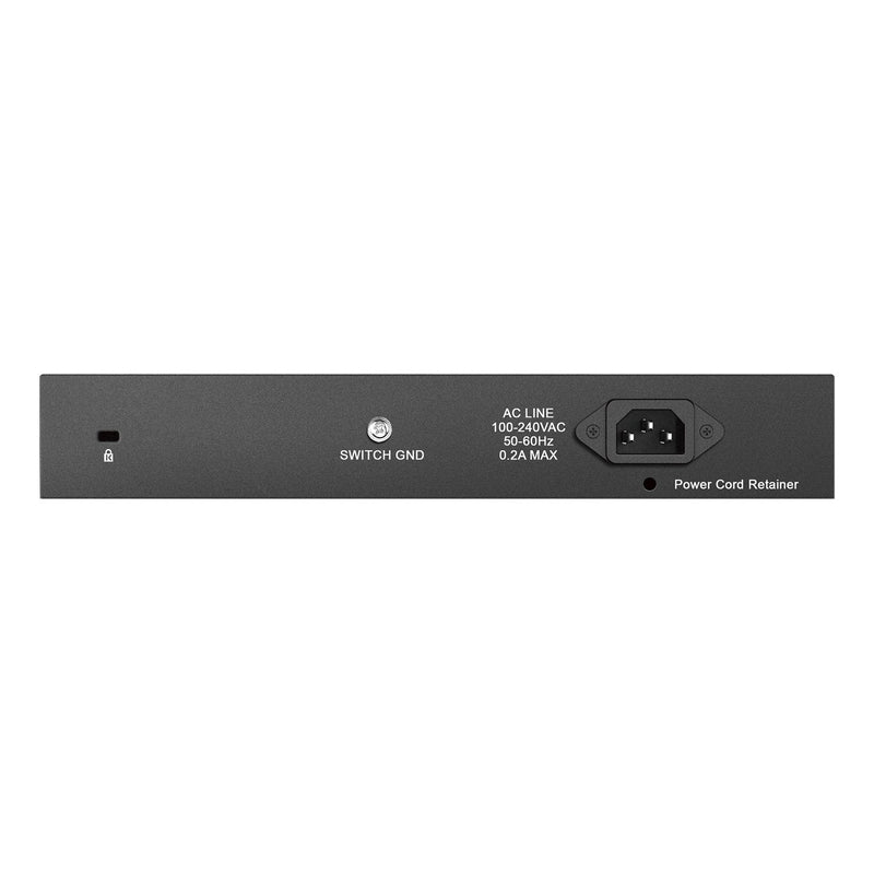 D-Link 16-Port Gigabit Unmanaged Desktop or Rackmount Switch (DGS-1016D)