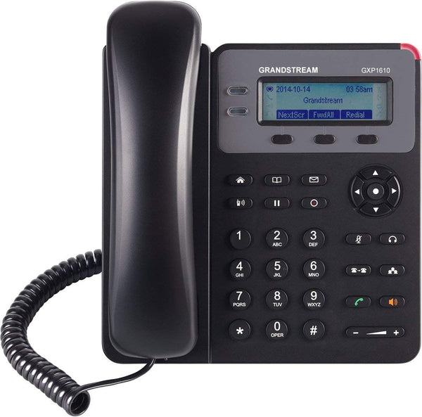 Grandstream Small Business IP phone with Single SIP account (GXP1610)