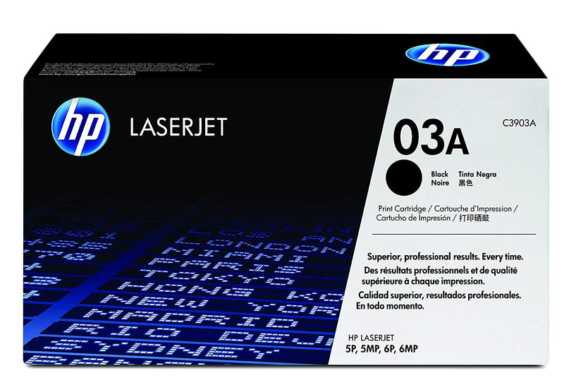 HP 03A Black Original LaserJet Toner Cartridge (C3903A)