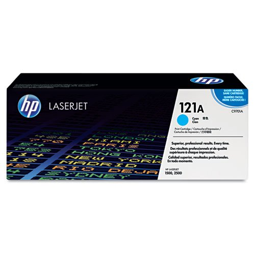 HP 121A Cyan Original LaserJet Toner Cartridge (C9701A)