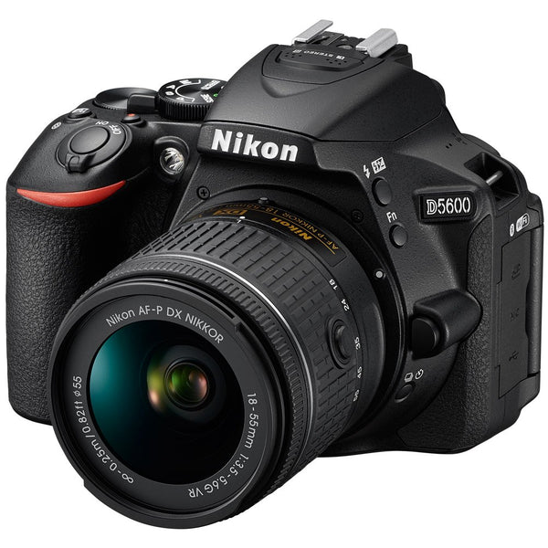 Nikon D5600 DSLR Camera with 18-55mm Lenses
