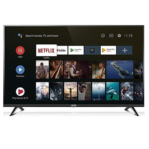 "TCL 43"" 4K ULTRA HD ANDROID TV, NETFLIX, YOUTUBE, GOOGLE PLAYSTORE"