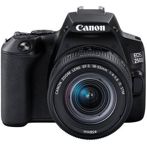 Canon EOS 250D with 18-55mm Lens Camera