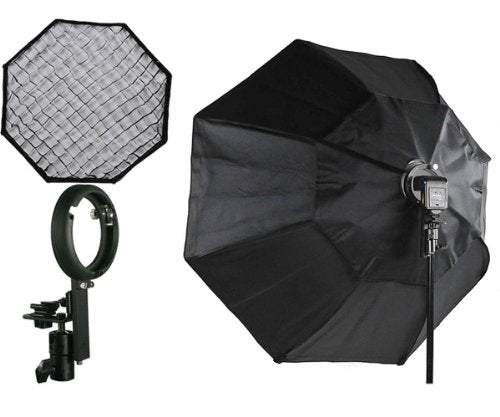"Off Camera Flash Softbox Pro 48"" Octagon For Nikon & Canon Flashes LBW8120GD"