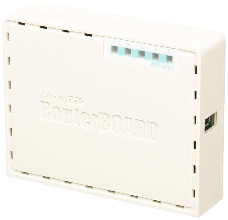 MikroTik RouterBOARD 750UP hEX PoE lite (RB750UPr2)