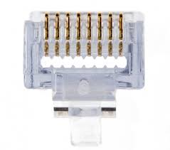RJ45 Connectors Cat5e, 1000 Pieces